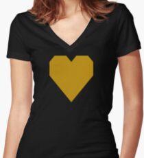 Pomona Gold  Women's Fitted V-Neck T-Shirt