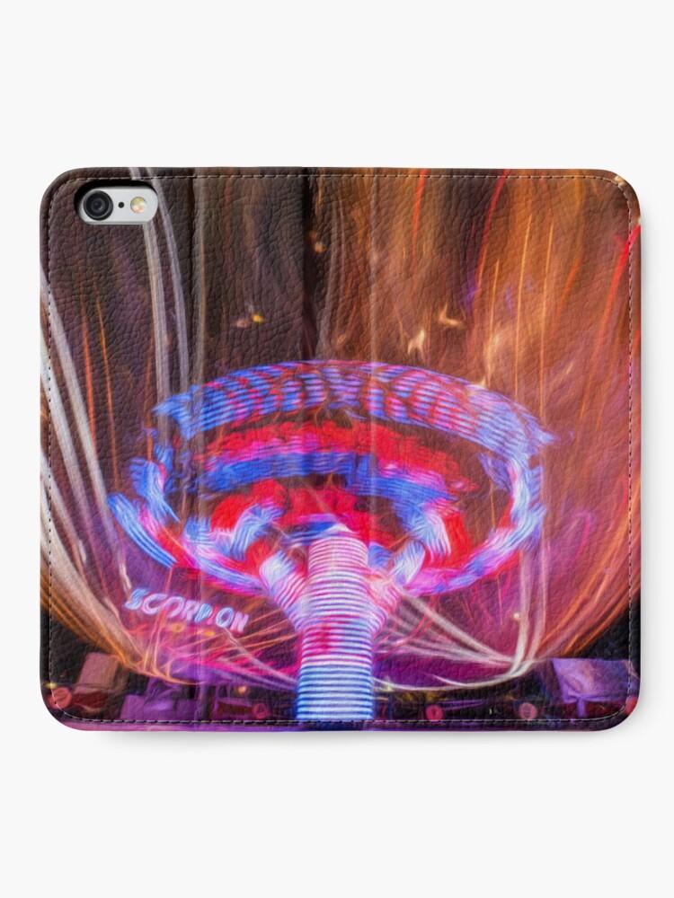 Alternate view of Firelight (digital painting)  iPhone Wallet