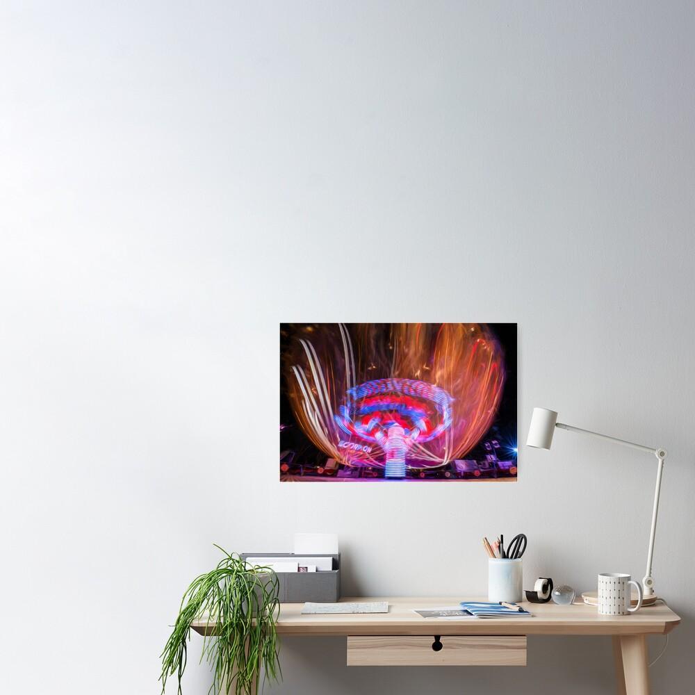 Firelight (digital painting)  Poster