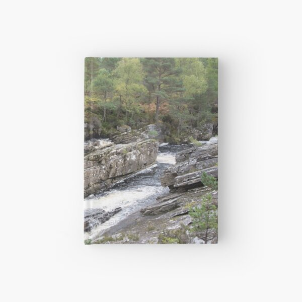 Rocks in the Blackwater Hardcover Journal