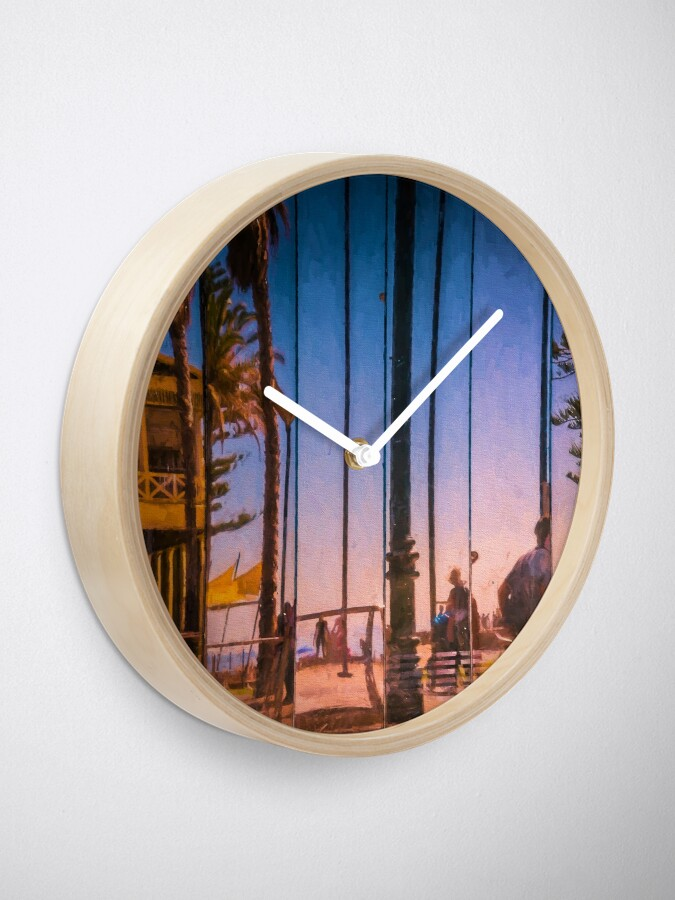 Alternate view of Slices Of Life   (digital painting) Clock