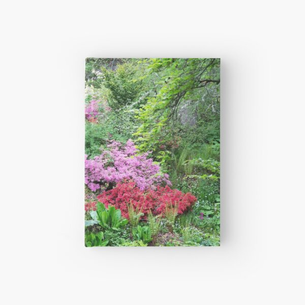 River of Flowers Hardcover Journal