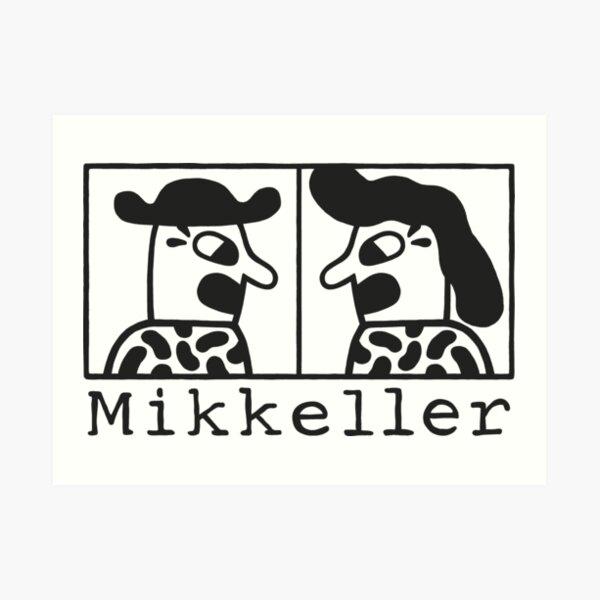Mikeller Logo Art Print