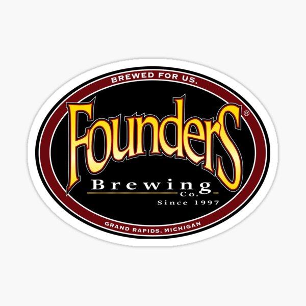 Founders Brewing Co logo Sticker
