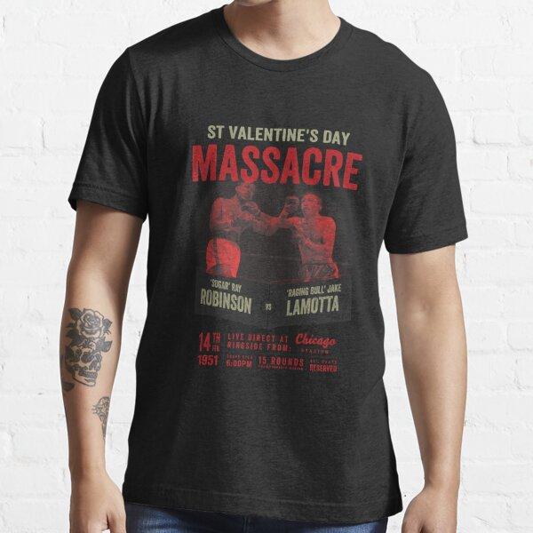 Sugar Ray Robinson vs Jake LaMotta Shirt Essential T-Shirt