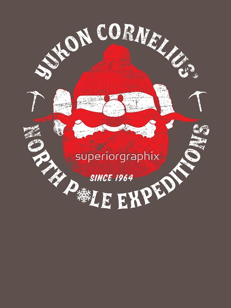 Yukon Cornelius North Pole Expeditions by superiorgraphix