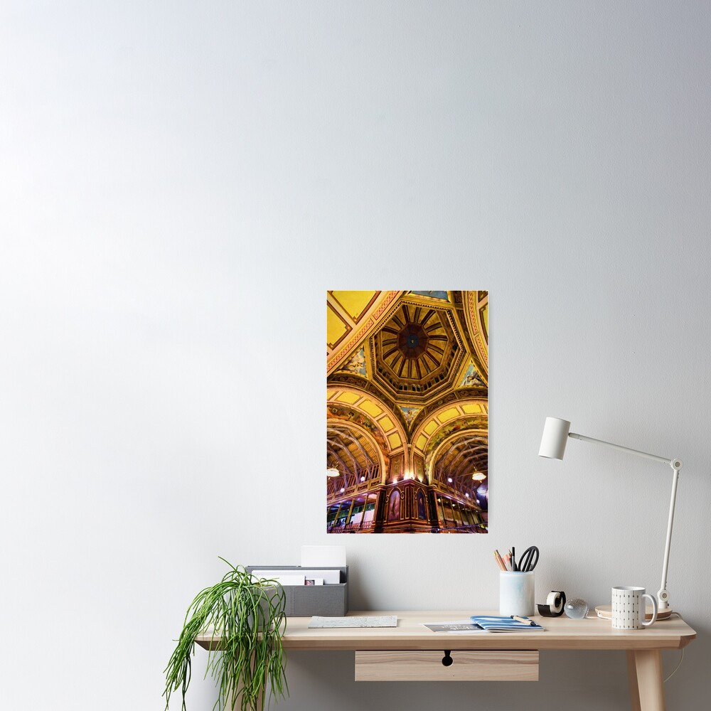When Architecture Was Art (digital painting) Poster