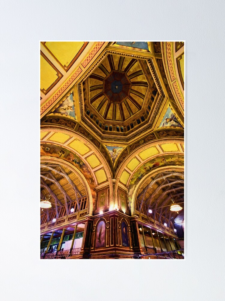 Alternate view of When Architecture Was Art (digital painting) Poster