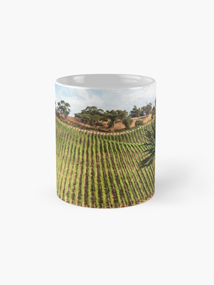 Alternate view of Southern Vineyard (digital painting) Mug