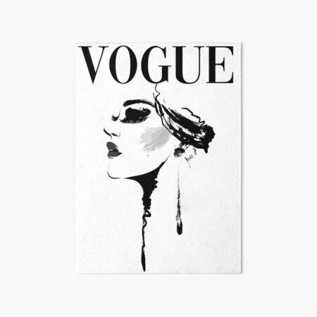 Vogue Magazine Cover Art Board Print