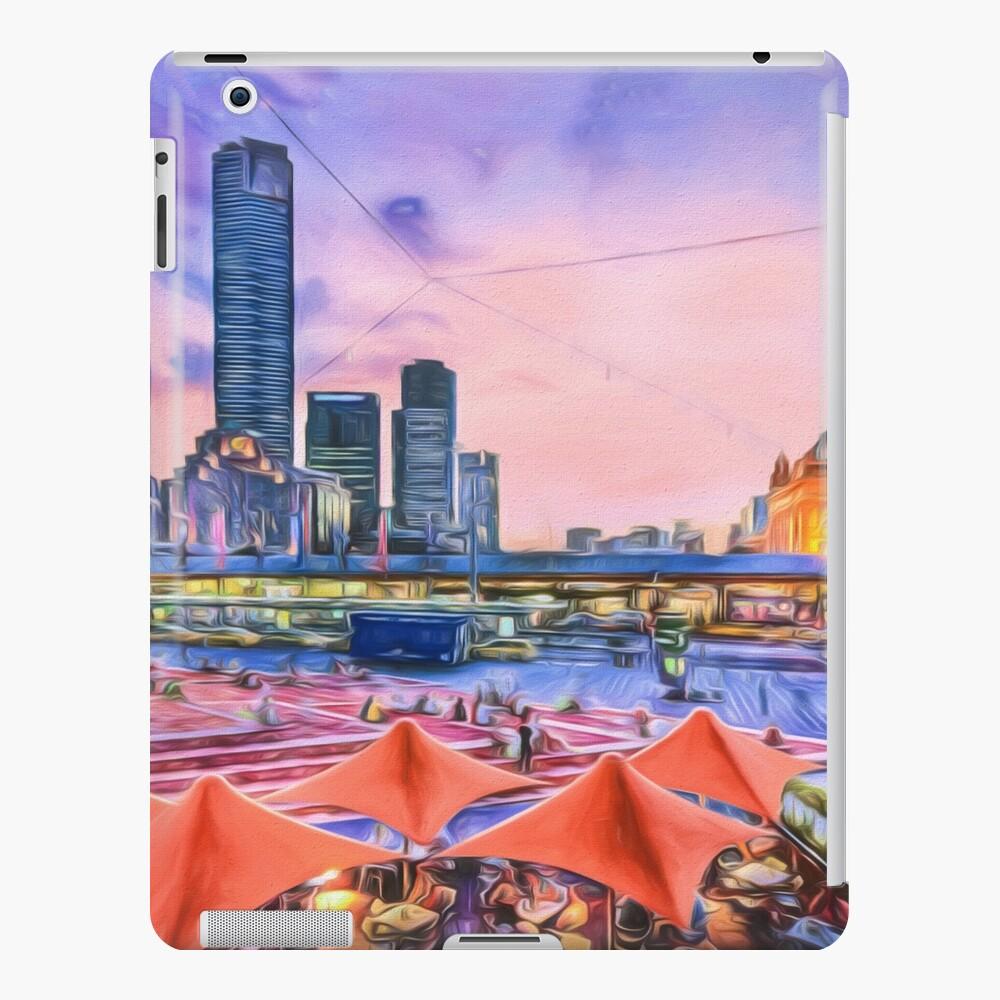City Sunset II (digital painting) iPad Case & Skin