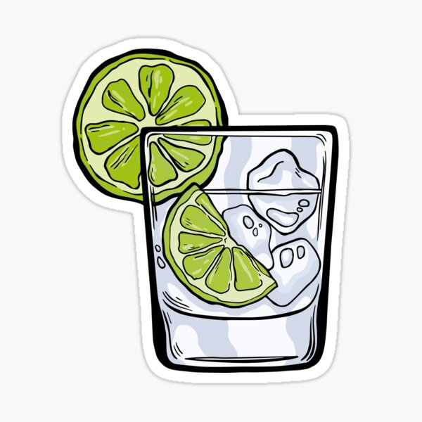 Gin and Tonic Sticker