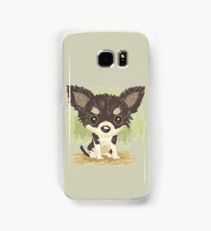 Chihuahua is sitting Samsung Galaxy Case/Skin