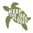 Keep The Sea Plastic Free Turtle Environmental by Ricaso