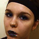 Sparkled lips  by Oceanna Solloway