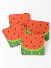 Watermelon Sliced Coasters