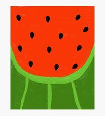 Watermelon Sliced Photographic Print