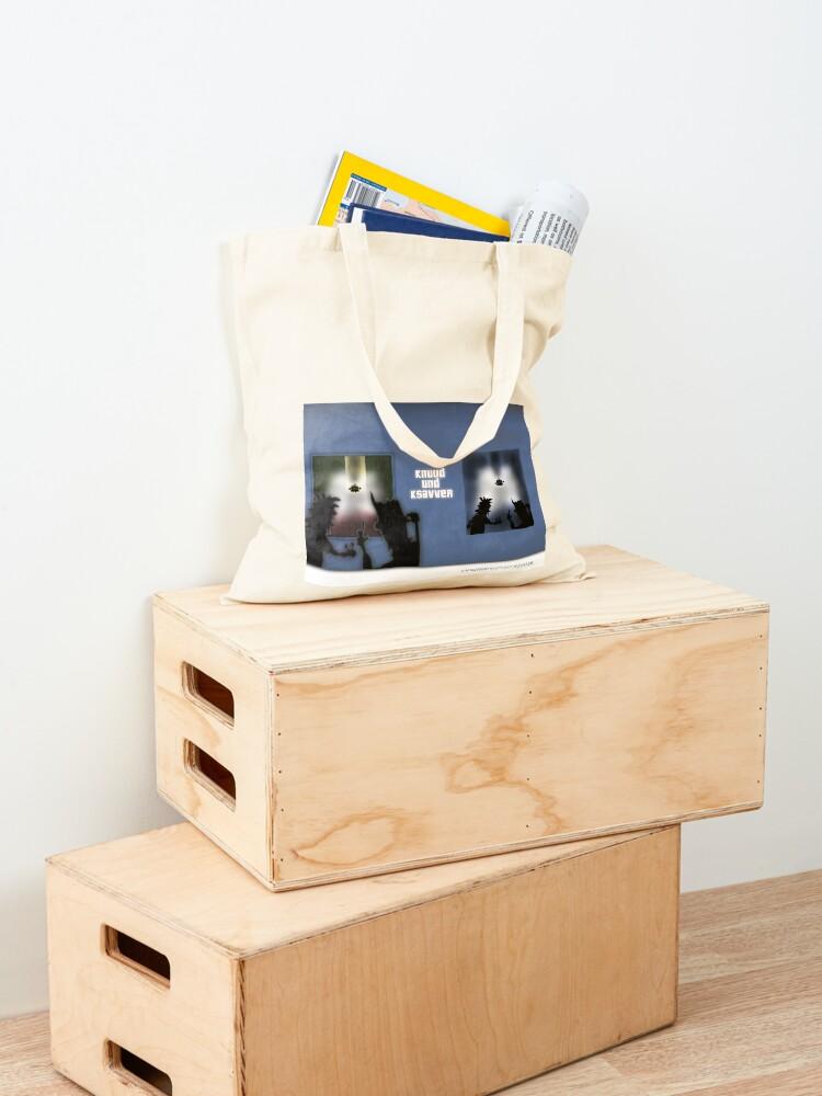 Alternative Ansicht von Die Geschichten von Knuud und Ksavver anno 2069 Stofftasche