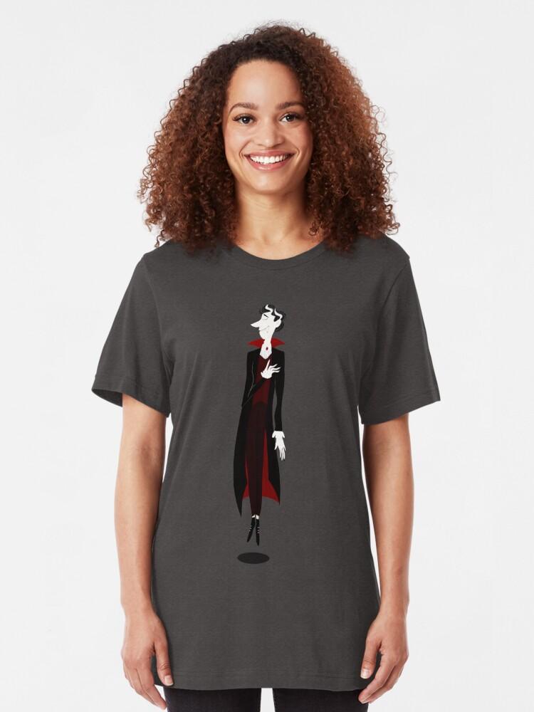 T-shirt ajusté ''Vampire': autre vue