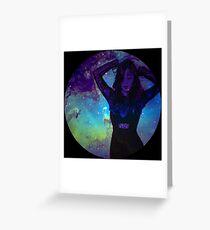 Galaxy Yuri Greeting Card