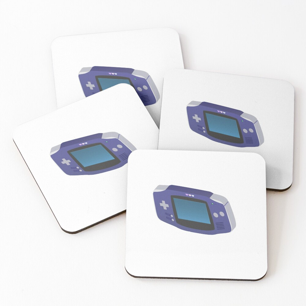 Chibi Gameboy Coasters (Set of 4)