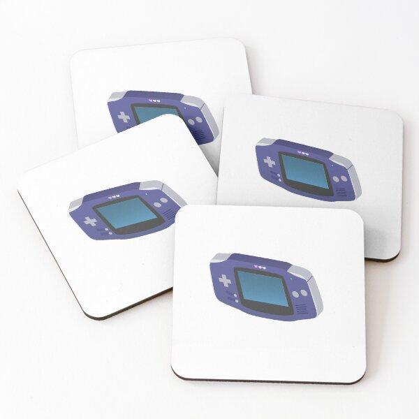 Chibi Gameboy Coasters (Set of 4)