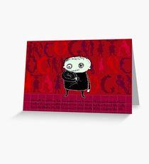 Heroine Protagonist Greeting Card