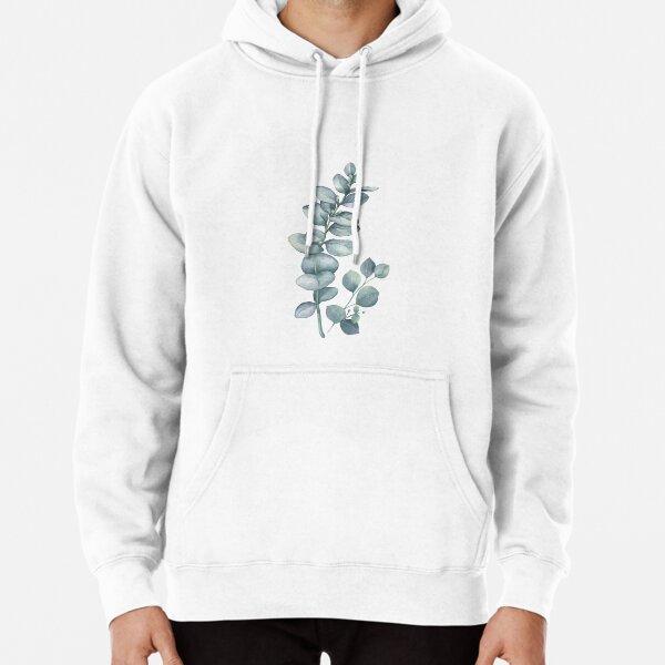 Eucalyptus Twig Pullover Hoodie