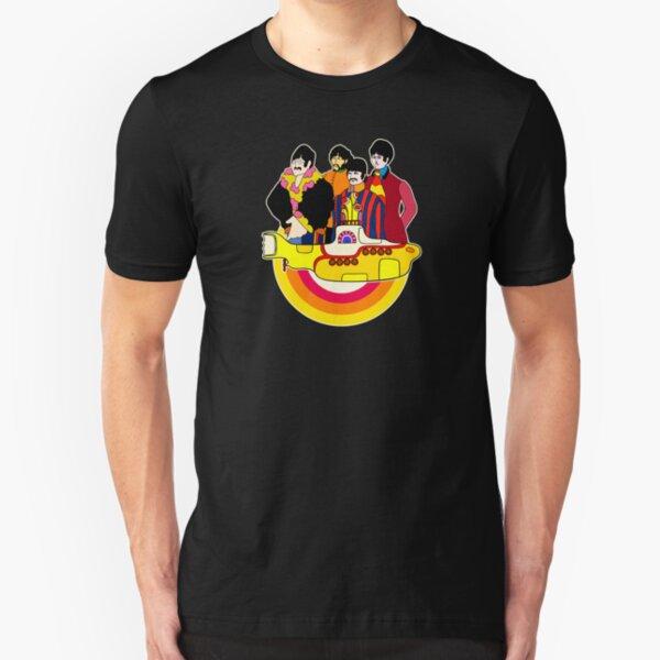 Yellow Submarine - Pop Art Slim Fit T-Shirt
