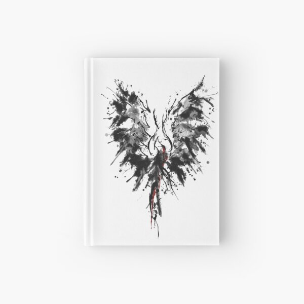 Phoenix Bird Hardcover Journal