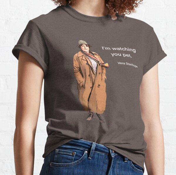 Te estoy mirando mascota. Camiseta clásica