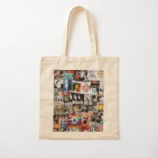 Rock Collage Cotton Tote Bag