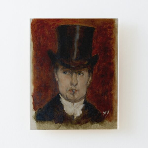 Duran portrait Wood Mounted Print