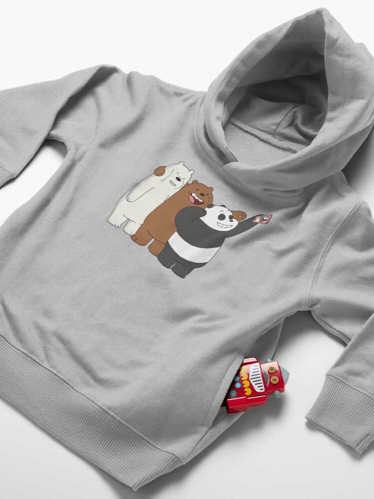 Alternate view of We Bare Bears Toddler Pullover Hoodie