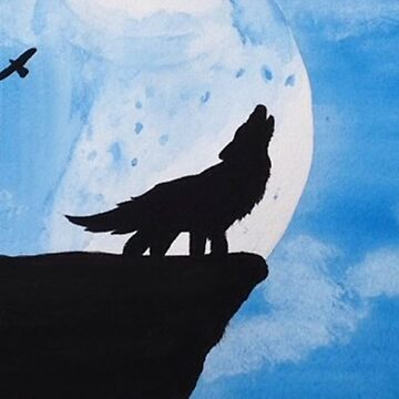 Howling Wolf by Taylorsdrawings