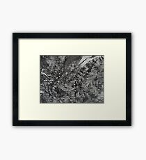 night-sky - the abstract Framed Print