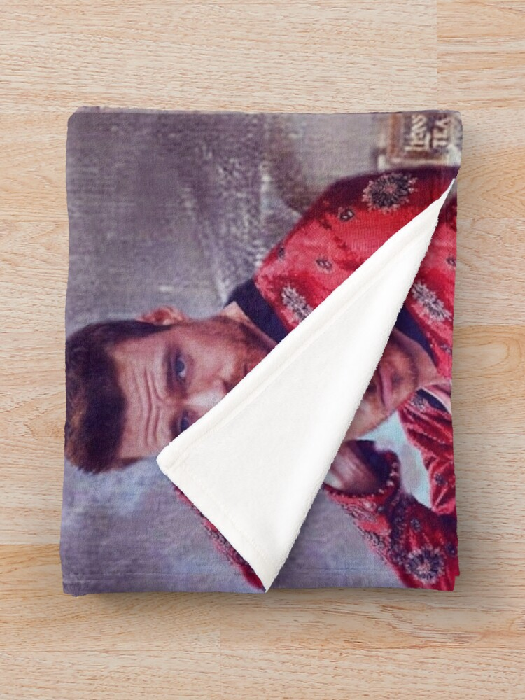 Alternate view of Richard Madden Throw Blanket