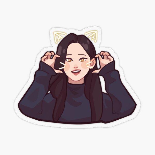 Aeong Transparent Sticker