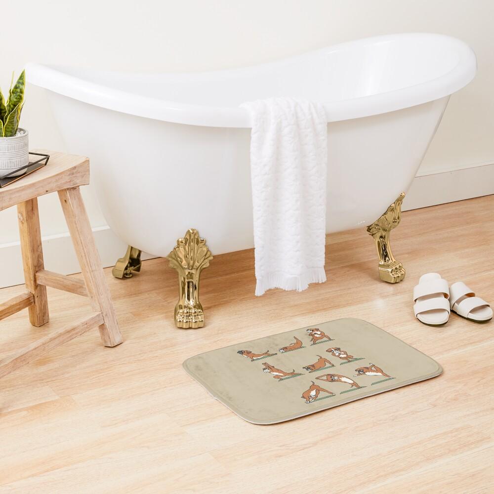 Boxer Yoga Bath Mat