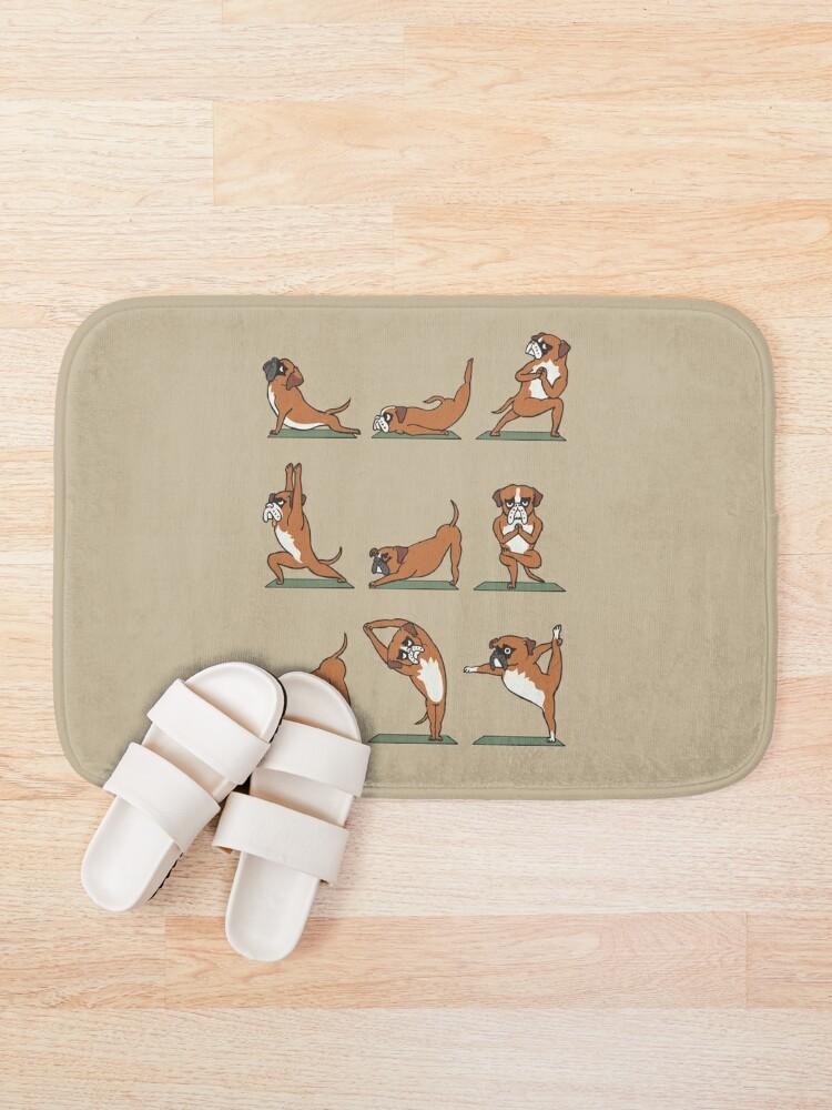 Alternate view of Boxer Yoga Bath Mat