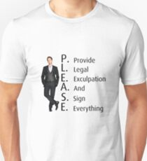 Barney Stinson's Job T-Shirt