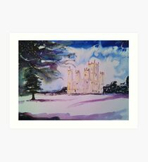 'Downton Abbey, Winter' Art Print