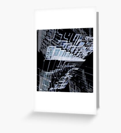 In space 06 Greeting Card