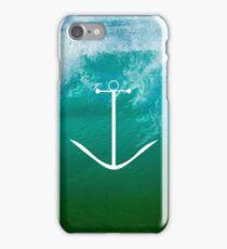 Blue, green ocean iPhone Case/Skin