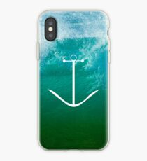 Blue, green ocean iPhone Case