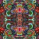 Colorful Abstract Floral Grunge by artonwear