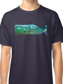 Sperm Whale wave Classic T-Shirt