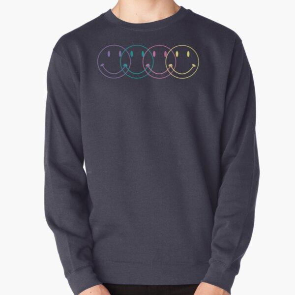 4 Smileys Pullover Sweatshirt