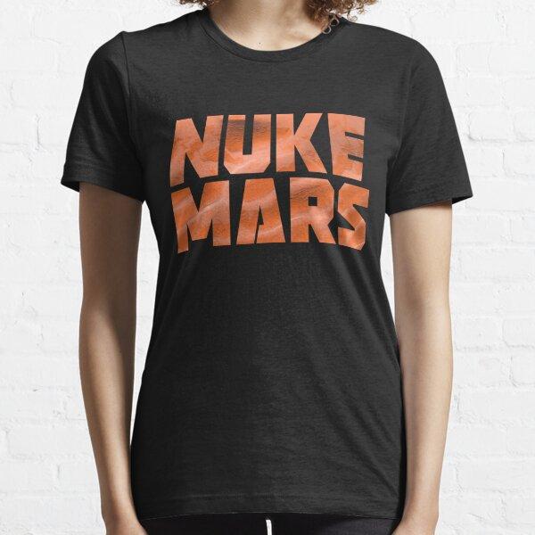 Nuke Mars Shirt Space Exploration Terraforming of Mars Vintage Cool Men T-Shirt