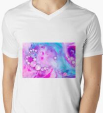 Raspberries V-Neck T-Shirt